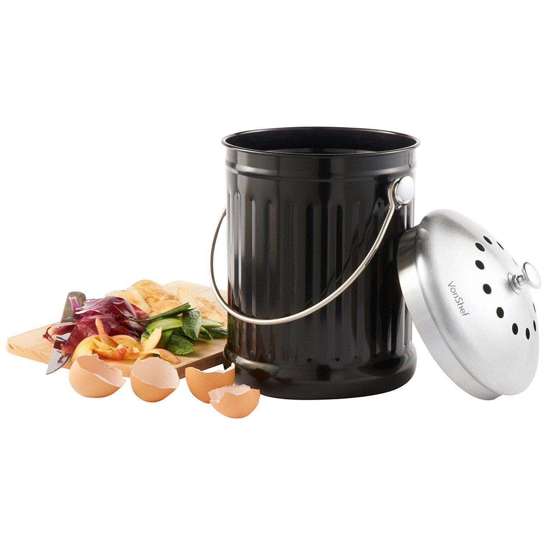 compost - composteur - intérieur - tri - déchet - déchets