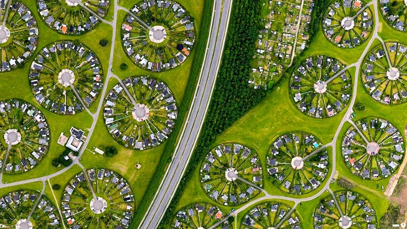 jardins circulaires